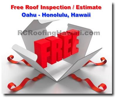 Rc Roofing Contractor Company Oahu Honolulu Hawaii