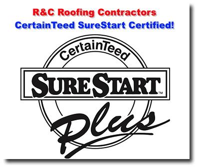 R\u0026C Roofing Contractors Is Now CertainTeed SureStart Certified! Sc 1  St RC Roofing